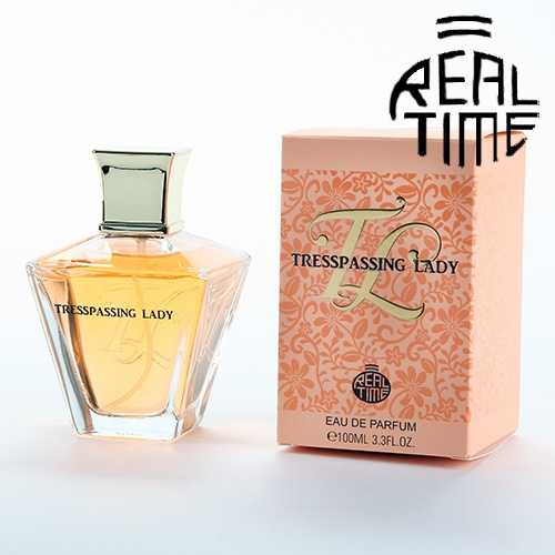 Real Time eau de parfum pour femme Trespassing Lady 100 ml Real Time Notes de tête: pêche, abricot -