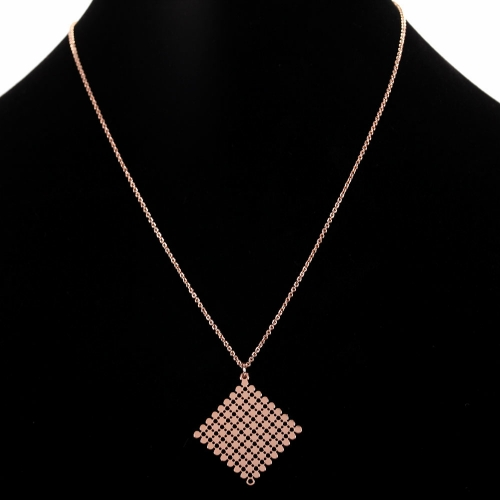 Collier ras de cou Hole Square - 18B02 -